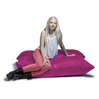 Jaxx Jr. Pillow Saxx Bean Bag Lounger Upholstery: Fuchsia