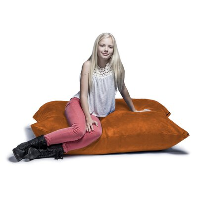 Jaxx Jr. Pillow Saxx Bean Bag Lounger Upholstery: Orange