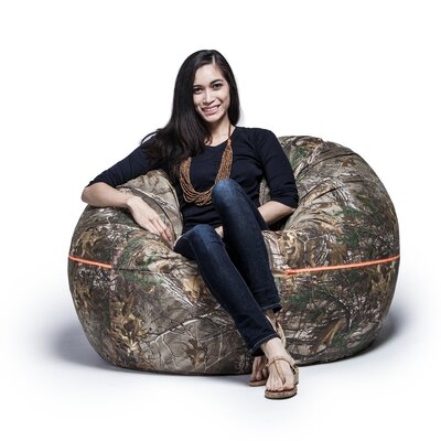 Realtree 4 Bean Bag Chair Upholstery: Green