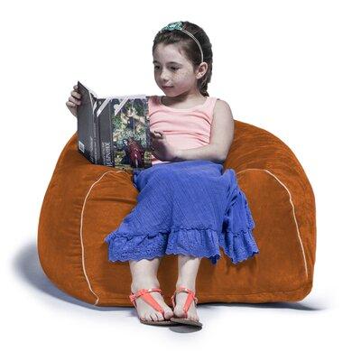 2.5 Kids Club Bean Bag Chair Upholstery: Pumpkin