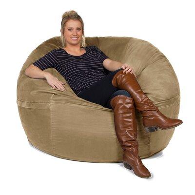 Giant Bean Bag Chair Upholstery: Camel