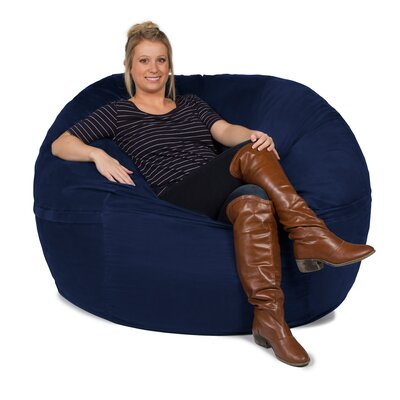 Giant Bean Bag Chair Upholstery: Microsuede Navy