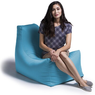 Juniper Bean Bag Lounger Upholstery: Lagoon Blue