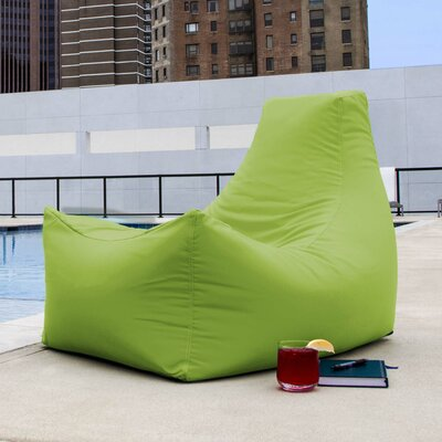 Juniper Bean Bag Lounger Upholstery: Lime Green