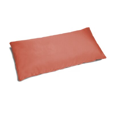 Marcus Outdoor Patio Lumbar Pillow Color: Flamingo