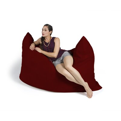 Pillow Saxx Bean Bag Lounger Upholstery: Cinnabar
