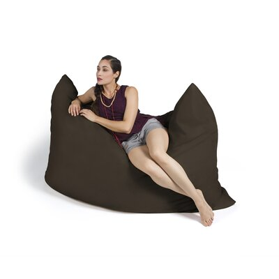 Pillow Saxx Bean Bag Lounger Upholstery: Premium Chocolate