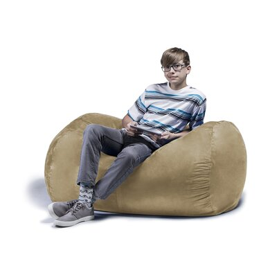 Jaxx Jr. Bean Bag Lounger Upholstery: Camel