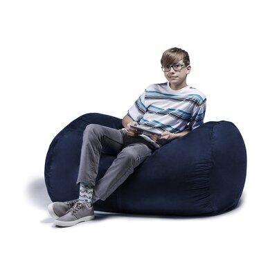 Jaxx Jr. Bean Bag Lounger Upholstery: Navy
