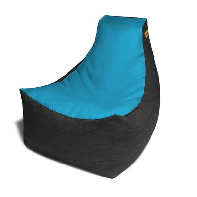 Pixel Bean Bag Chair Upholstery: Turquoise