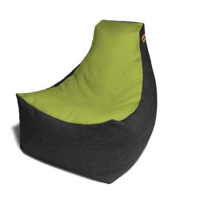 Pixel Bean Bag Chair Upholstery: Green