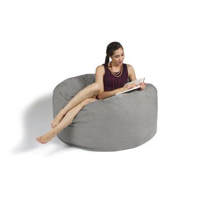 Bean Bag Lounger Upholstery: Gray