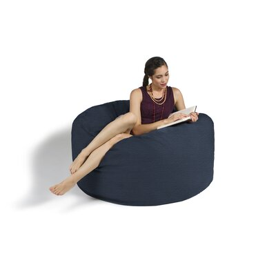 Bean Bag Lounger Upholstery: Blue