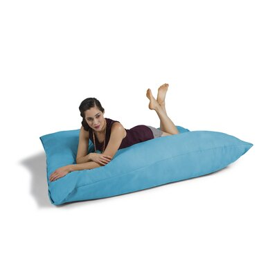 Pillow Saxx Bean Bag Lounger Upholstery: Teal
