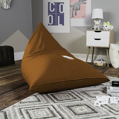 Pivot Kids Bean Bag Lounger Chair with Cotton Cover Upholstery: Sunkiss
