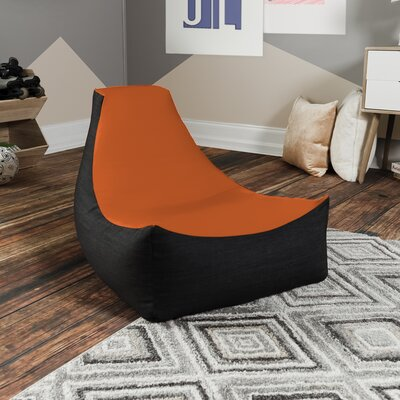 Bean Bag Gaming Chair Upholstery: Orange
