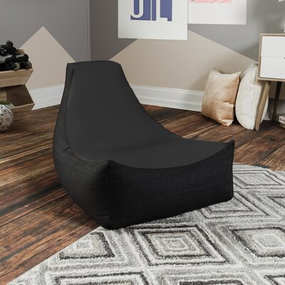 Bean Bag Gaming Chair Upholstery: Black