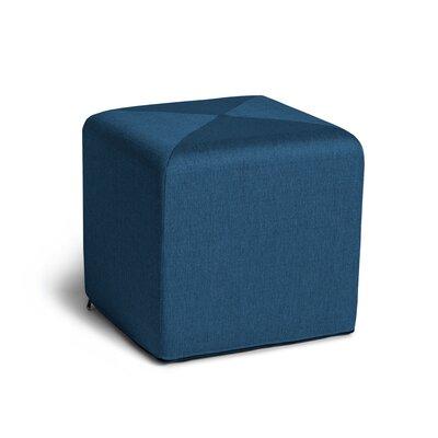 Speier Cube Ottoman Upholstery: Blue