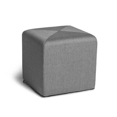 Speier Cube Ottoman Upholstery: Gray