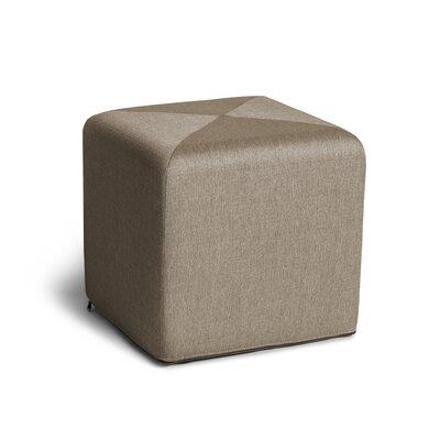 Speier Cube Ottoman Upholstery: Beige