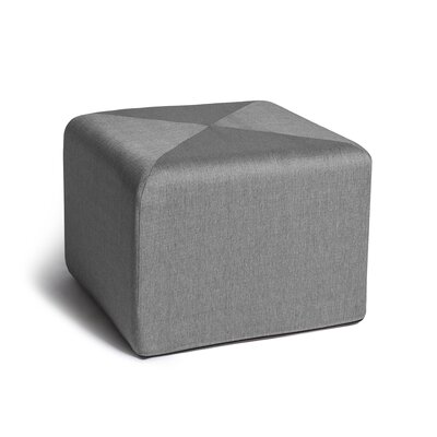 Ikard End Table Ottoman Color: Grey