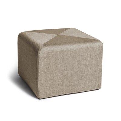 Ikard Cube Ottoman Color: Beige