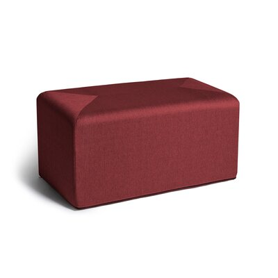 Ikard Coffee Table Ottoman Color: Red