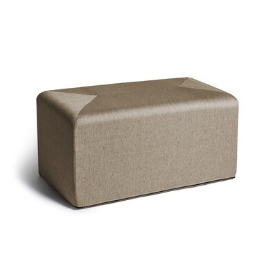 Ikard Cocktail Ottoman Color: Beige