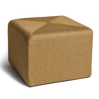 Ikard Cube Ottoman Color: Gold
