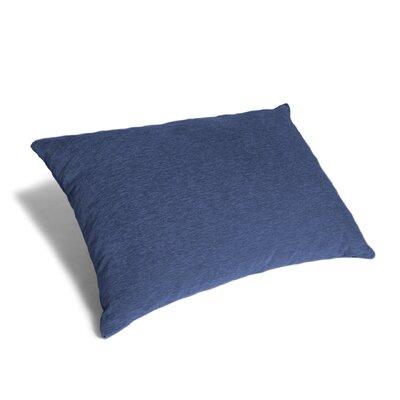 Floor Pillow Bean Bag Lounger Upholstery: Navy Blue