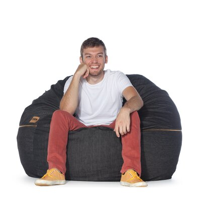Denim 4 Bean Bag Chair