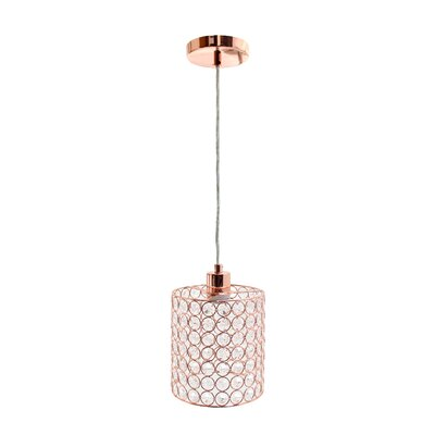 Drury Elegant Designs 1-Light Mini Pendant
