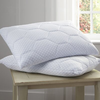 Cooling Gel Reversible Memory Foam Pillow Size: 20 D x 28 W
