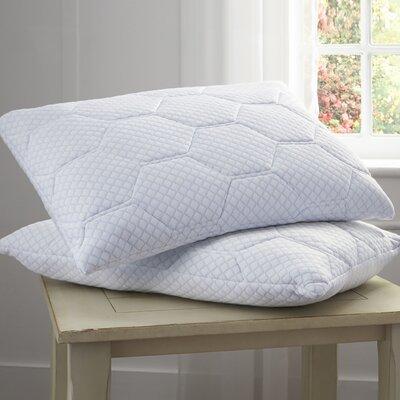 Cooling Gel Reversible Memory Foam Pillow Size: 20 D x 36 W