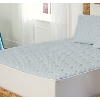 0.5 Memory Foam Mattress Topper Size: King