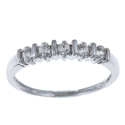 """Sterling Essentials Sterling Silver Cubic Zirconia Band Ring - Size: 6"""" at Sears.com"""