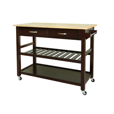 Belknap Kitchen Island Finish: Espresso