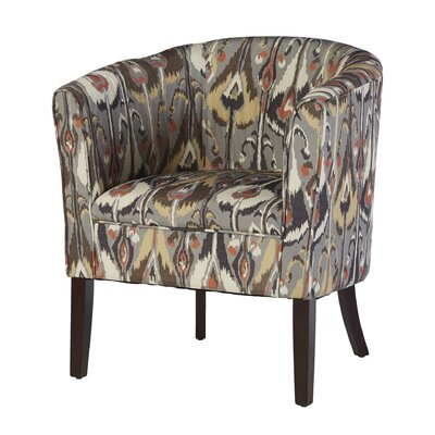 Claiborne Patterned Club Chair Color: Ikat