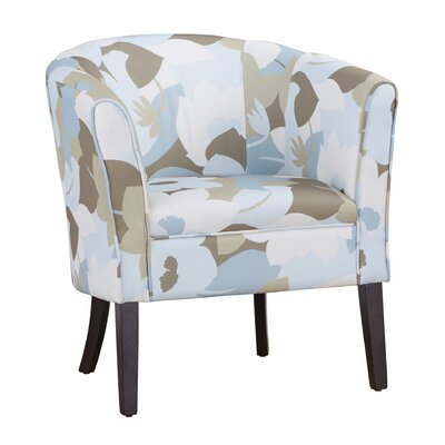 Claiborne Patterned Club Chair Color: Floral
