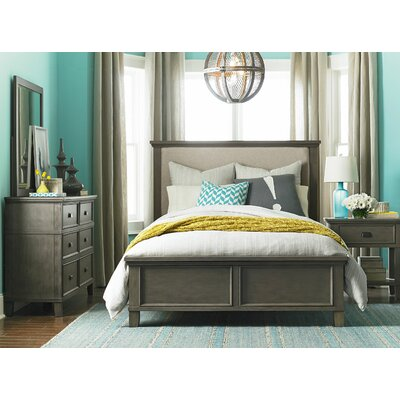 Bois Upholstered Panel Customizable Bedroom Set