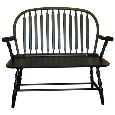 Cottage Windsor Wooden Bench