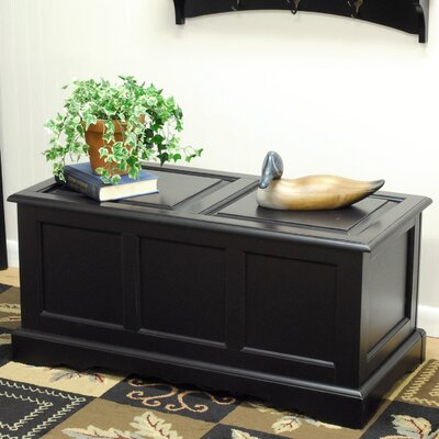 Carolina Cottage Camden Trunk Blanket Chest - Finish: Antique Black at Sears.com