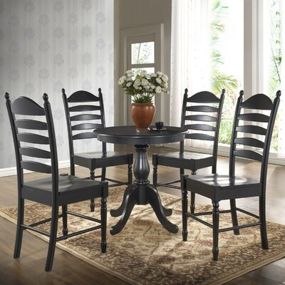 Newport 30 Dining Table Finish Antique Black
