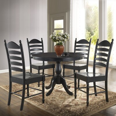 Fredric Dining Table Finish: Antique Black