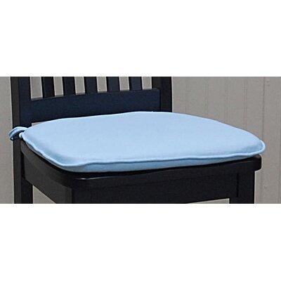 Tailor Dining Chair Cushion Color: Sky Blue