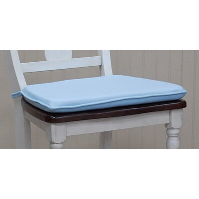 Tailor Dining Chair Cushion Color: Sky Blue