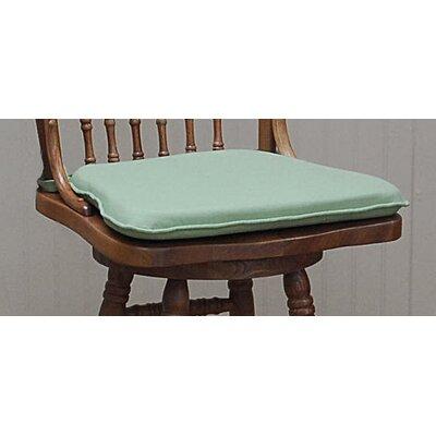 Tailor Barstool Cushion Fabric: Fern Green
