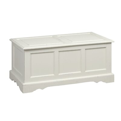 Carolina Cottage Camden Trunk Blanket Chest - Finish: Antique Ivory at Sears.com