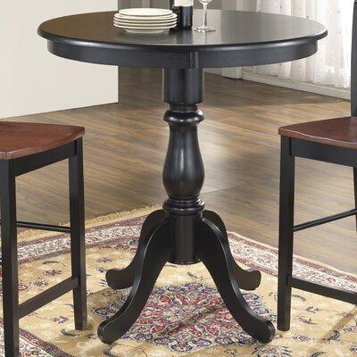 Fredric 36 Pub Table Color: Antique Black