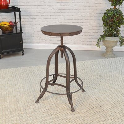 Huston Adjustable Height Bar Stool